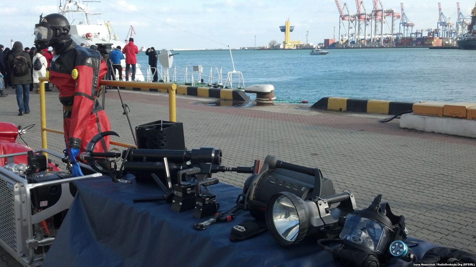 США передали морській охороні України спеціальне обладнання.