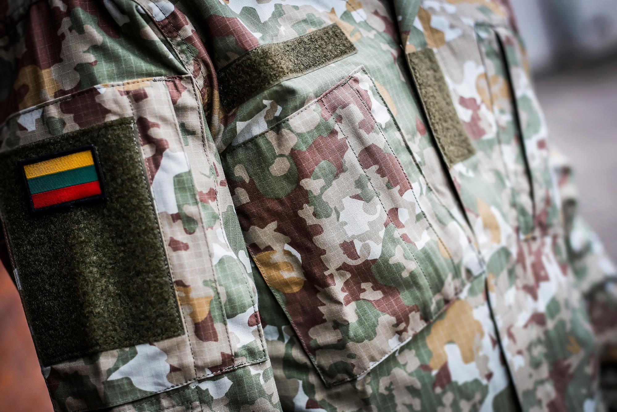 Новий патерн литовської уніформи