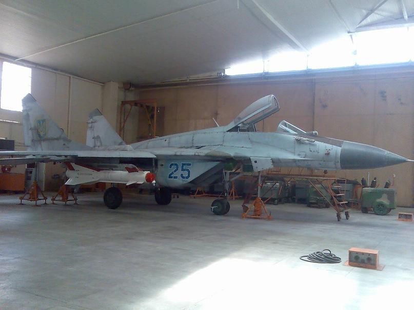 МіГ-29 з ракетою Х-29
