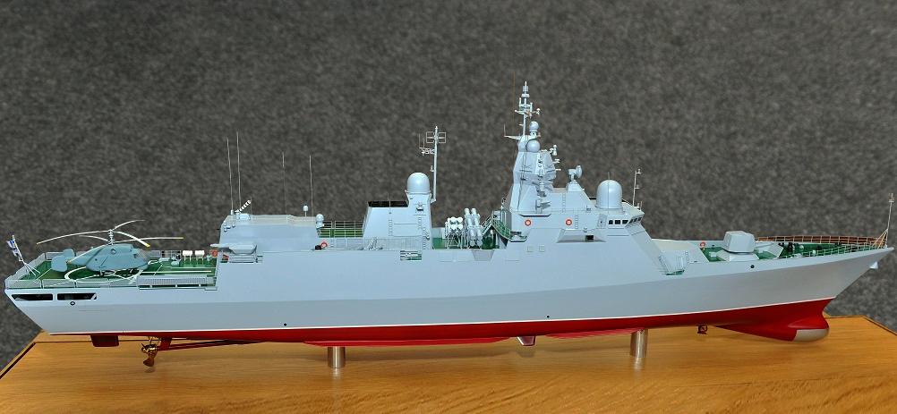 """Модель корабля типу """"корвет"""" проєкту 58250"""