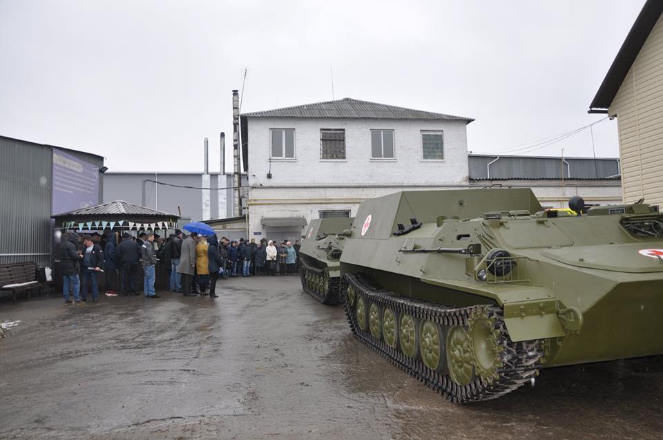 МТ-ЛБ-С передані наприкінці березня