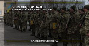 Тренування підрозділів територіальної оборони на Харківщині