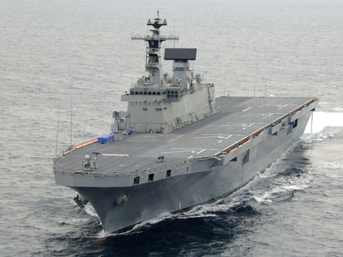 Південна Корея може долучитися до країн з авіаносцями