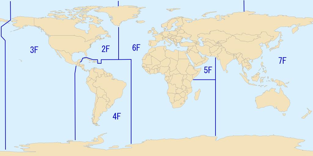 Флоти ВМС США станом на 2009 рік