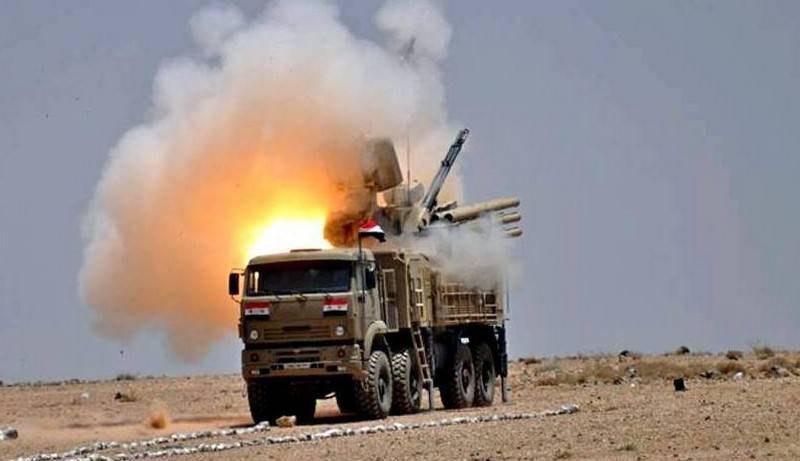 """ЗРГК """"Панцир-С1"""" сирійських військ"""