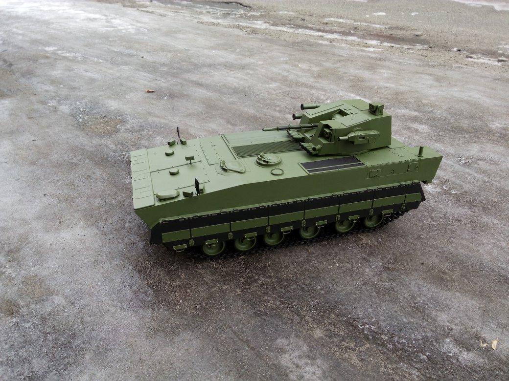 Перспективна бойова машина піхоти БМП-У