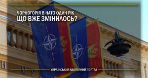 Чорногорія в НАТО один рік, що вже змінилось?
