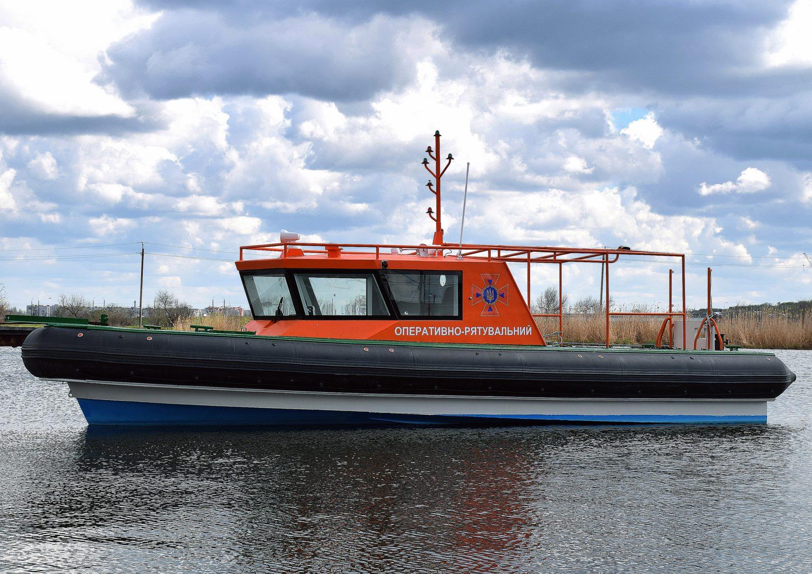 Оперативно-рятувальний катер від Black Sea Yachts