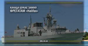 Канада шукає заміну фрегатам Halifax