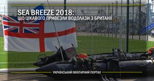 Sea Breeze 2018: що цікавого привезли водолази з Британії