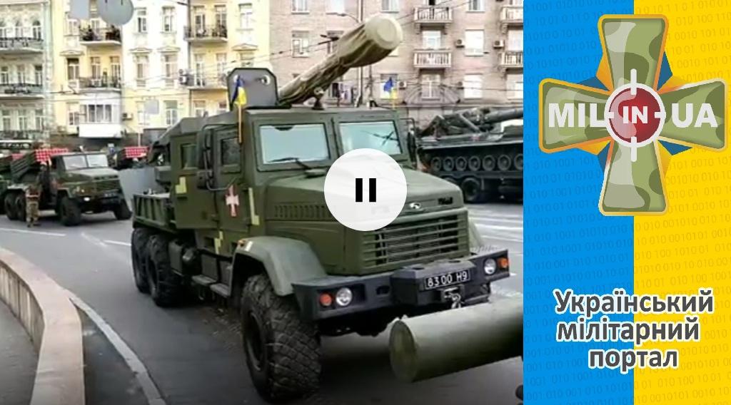Репетиція параду до Дня Незалежності України [18.08.2018]