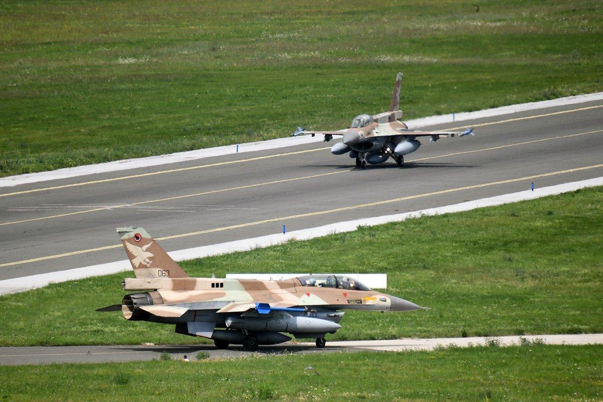 Ізраїльські F-16D у Хорватії