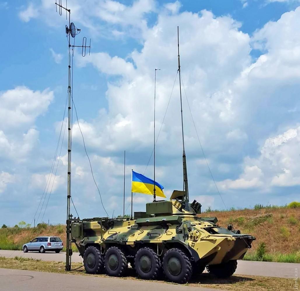 КШМ на базі БТР-3