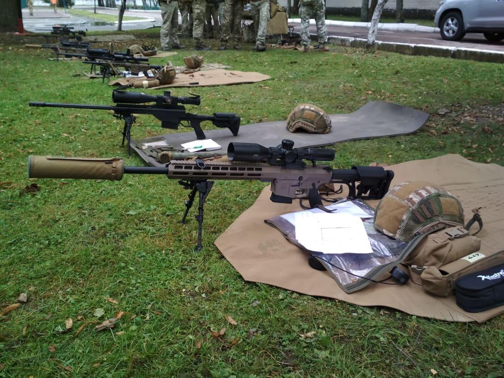 Передані снайперські гвинтівки компанією Roshen
