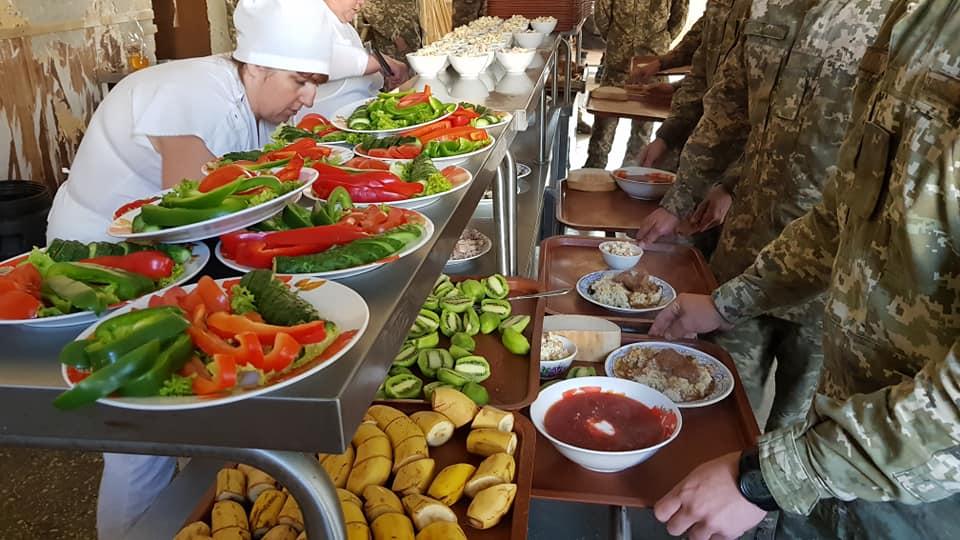 Харчування військовослужбовців 72 бригади за новою системою