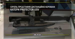 Ізраїль представив дистанційно керовані катери Protector USV