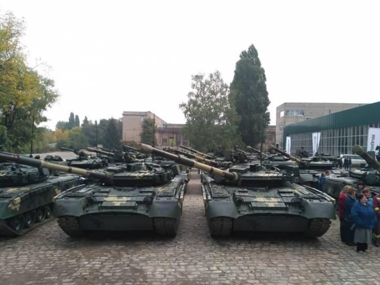 Передані до ЗСУ модернізовані танки