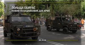 Польща обирає новий позашляховик для армії