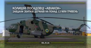 Колишні посадовці «Авіакон» завдали збитків державі на понад 13 млн грн