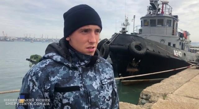 Матрос Сергій Цибізов