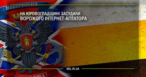 На Кіровоградщині засудили ворожого інтернет-агітатора