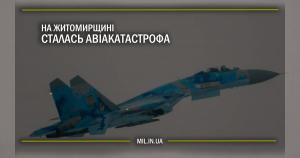 На Житомирщині сталась авіакатастрофа