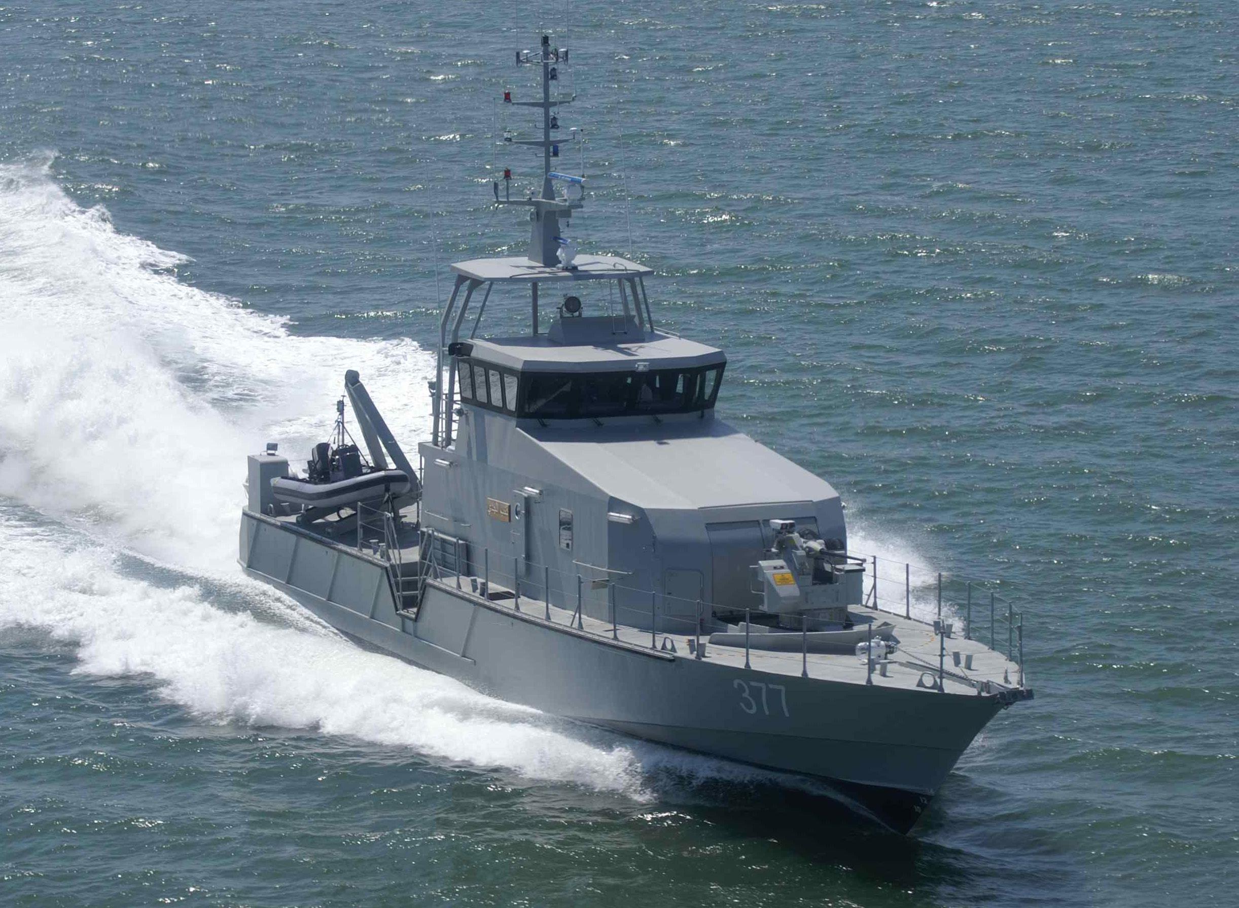 Патрульний катер OCEA FPB 98 MKI