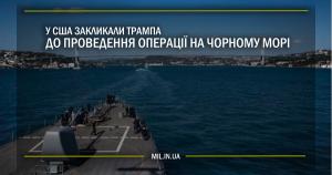 У США закликали Трампа до проведення операції на Чорному морі