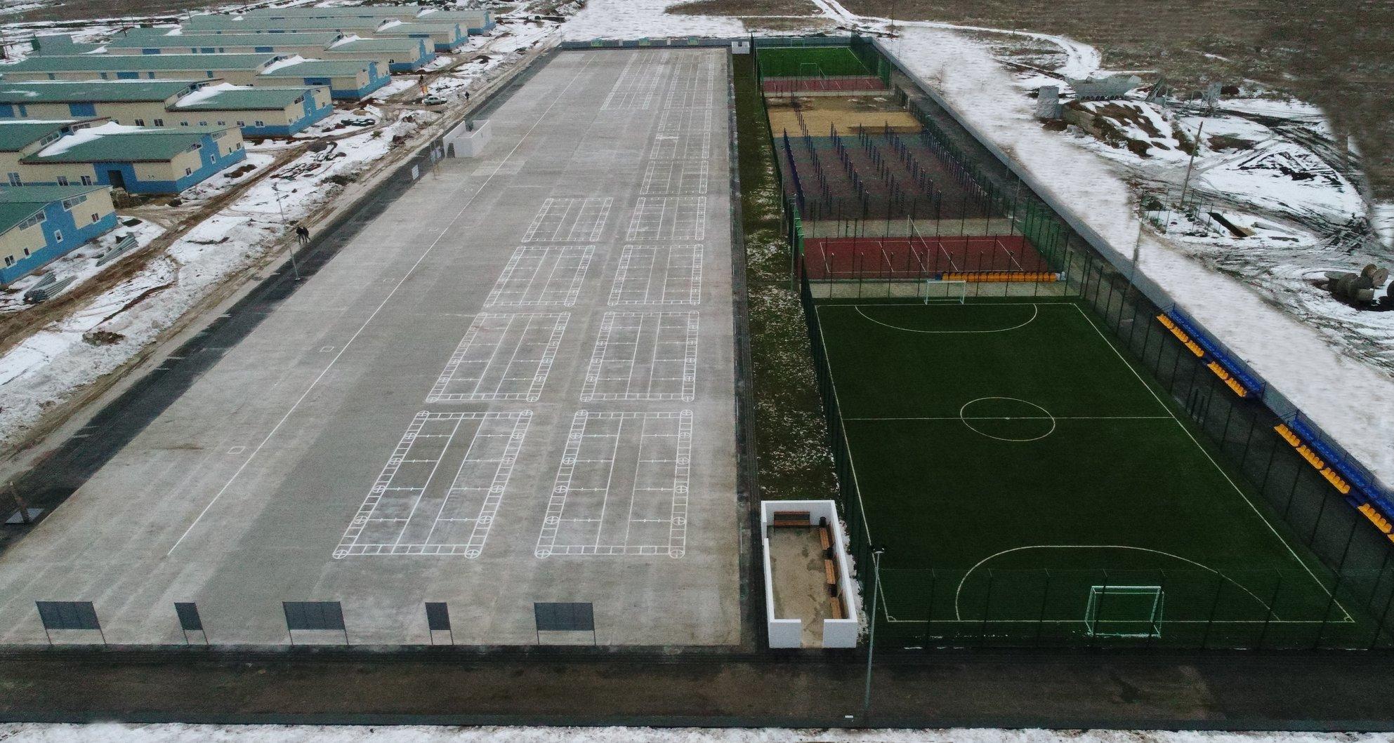 Завершене будівництво ДССТ на полігоні Широкий Лан