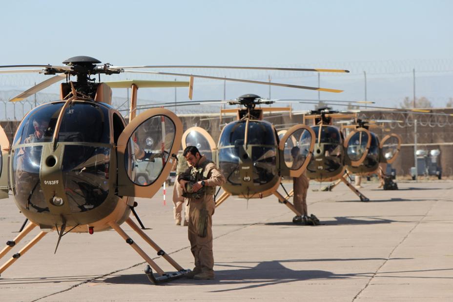 Гелікоптери MD 530F афганських Повітряних Сил