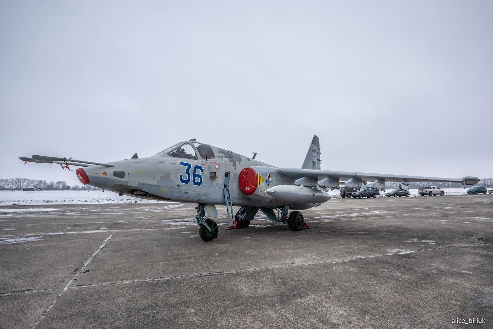 Су-25М1К переданий ПС ЗС 21 грудня 2018 року