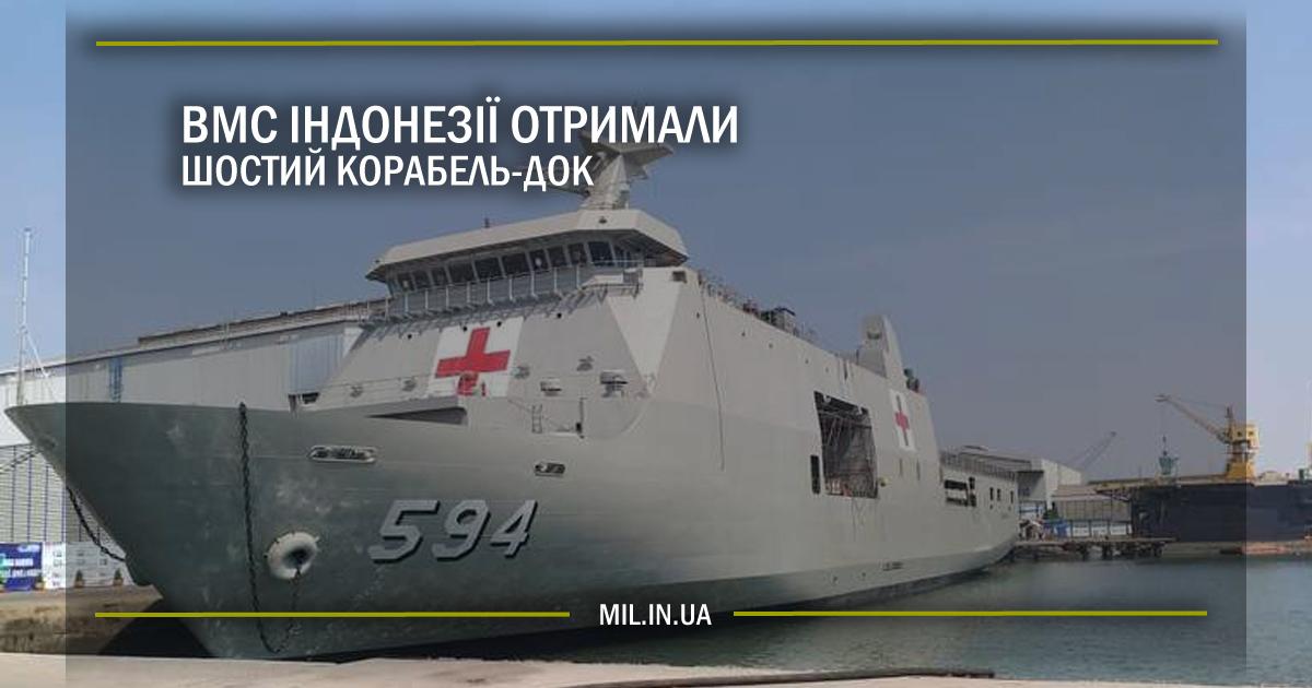 ВМС Індонезії отримали шостий корабель-док