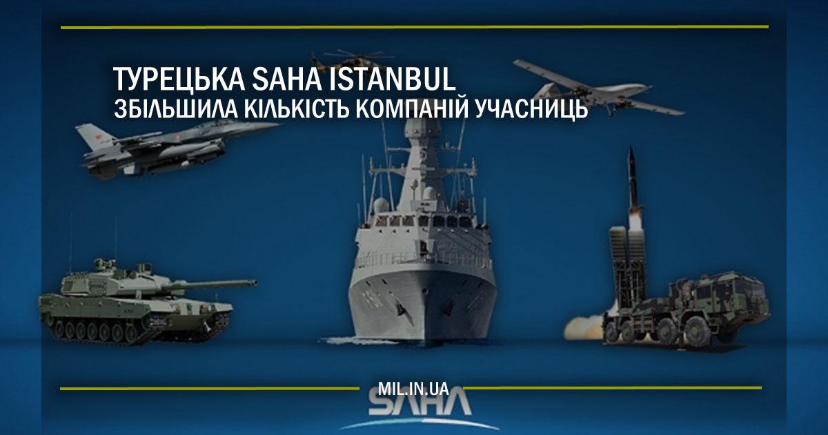 Турецька SAHA İstanbul збільшила кількість компаній учасниць