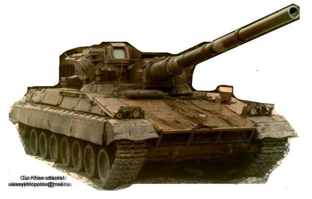 Фотографія бойової машини «Об'єкт 477»