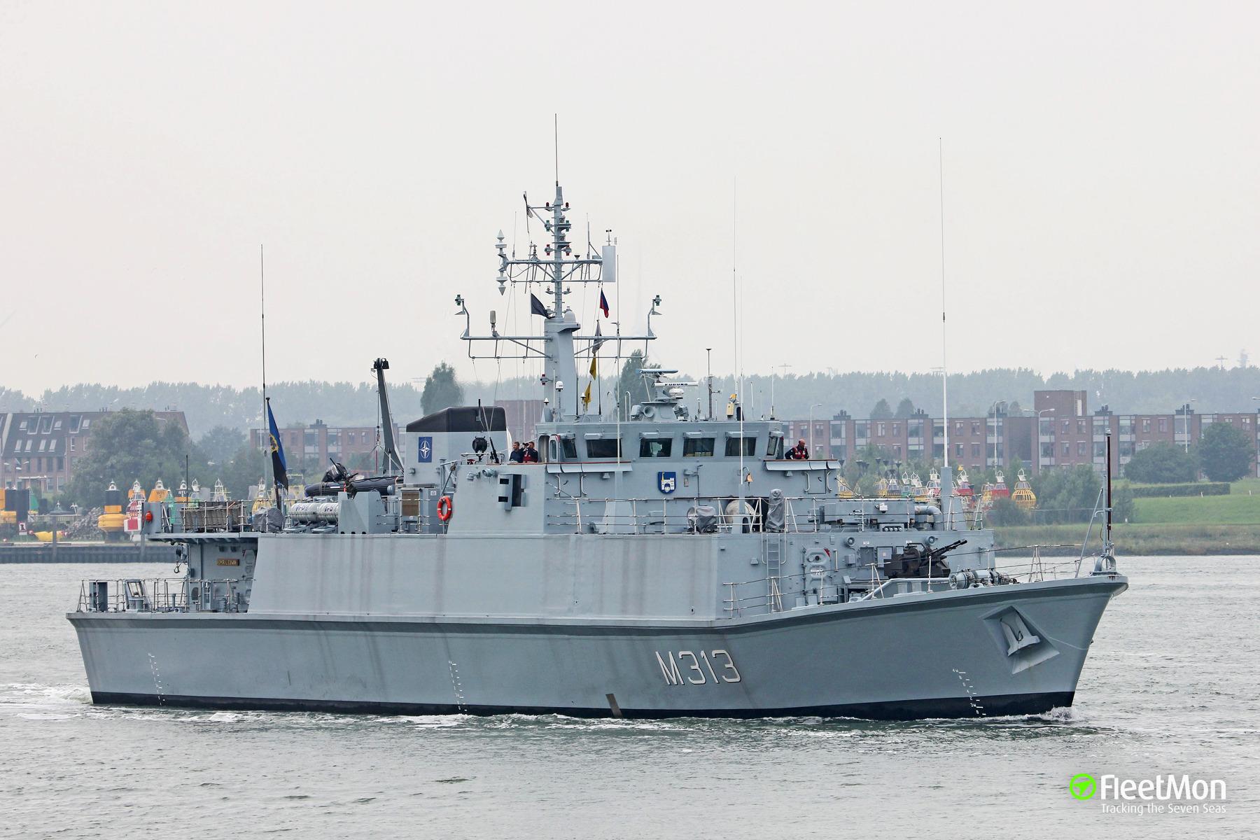 Мінний тральщик EML Admiral Cowan (M313) ВМС Естонії