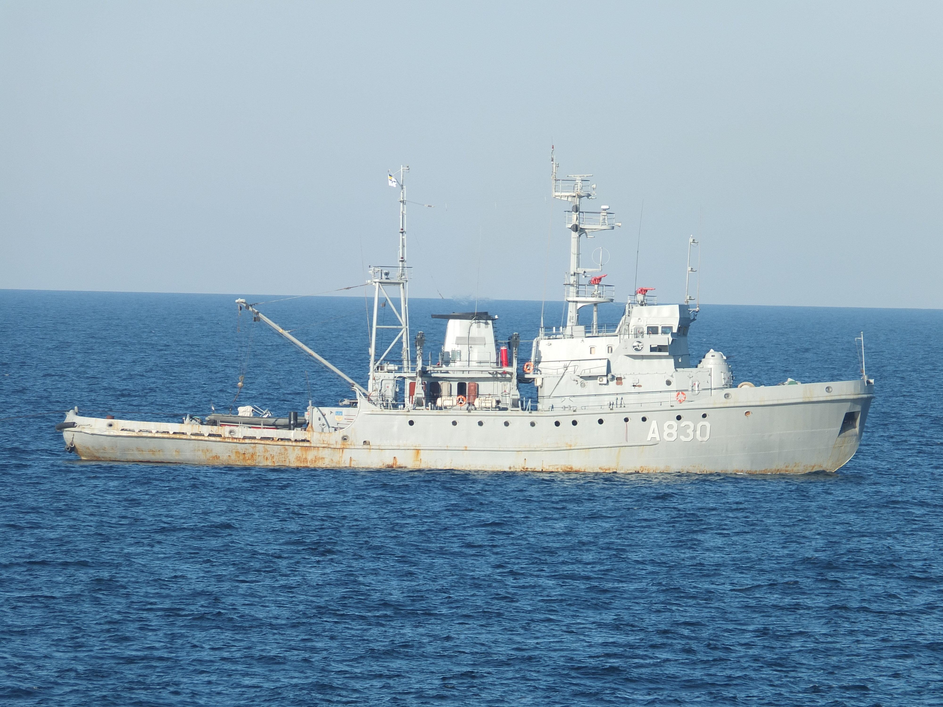 """Що відомо про найбільший корабель ВМС на Азові – морський буксир """"Корець"""""""