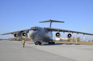 Літак Іл-76МД ЗСУ дообладнають до вимог ІКАО