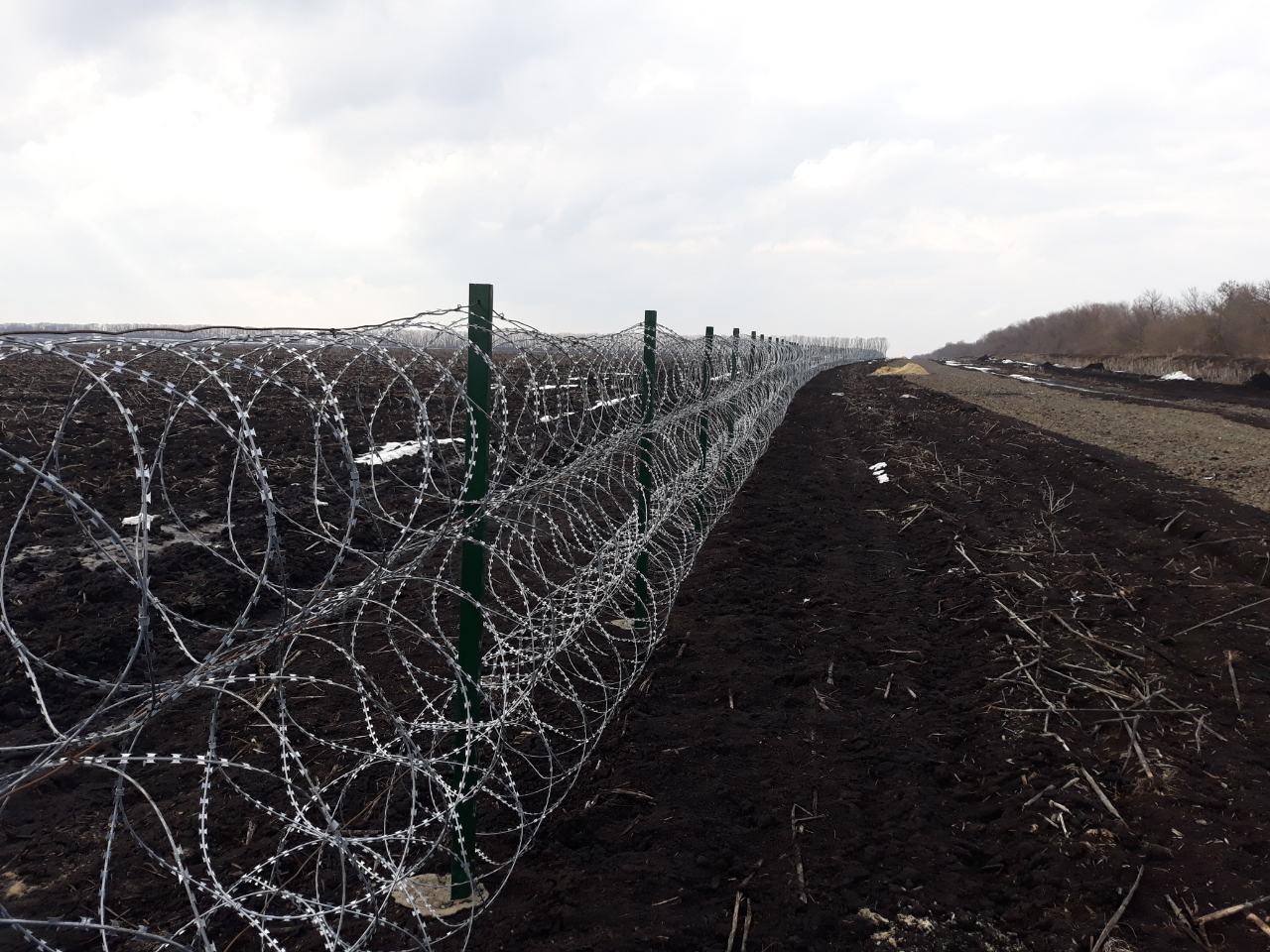 Роботи з облаштування державного кордону з Росією