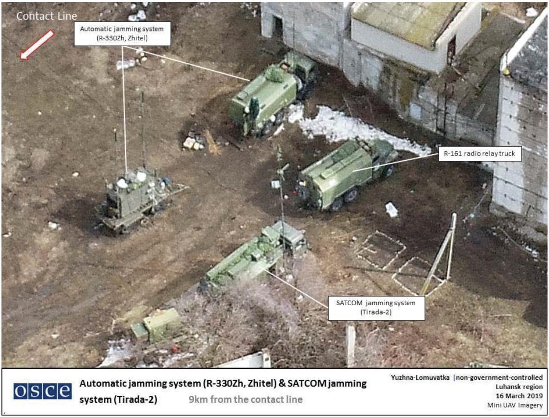 Російські системи РЕБ на Донбасі