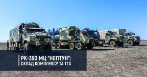 "РК-360 МЦ ""Нептун"": склад комплексу та ТТХ"