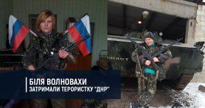"""Біля Волновахи затримали терористку """"ДНР"""""""