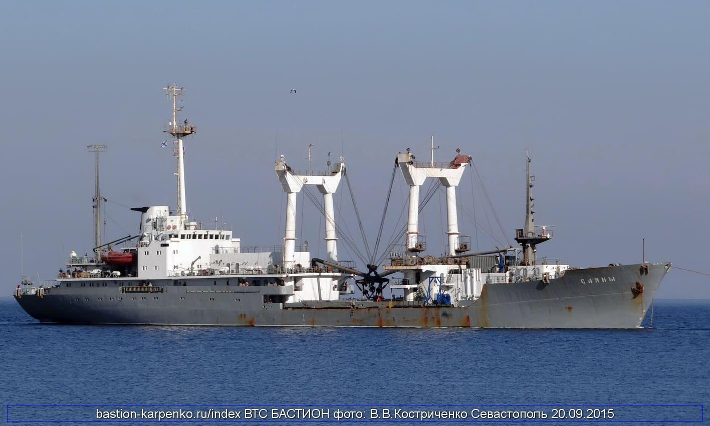 Рятувальне судно проекту 05361 «Саяны»