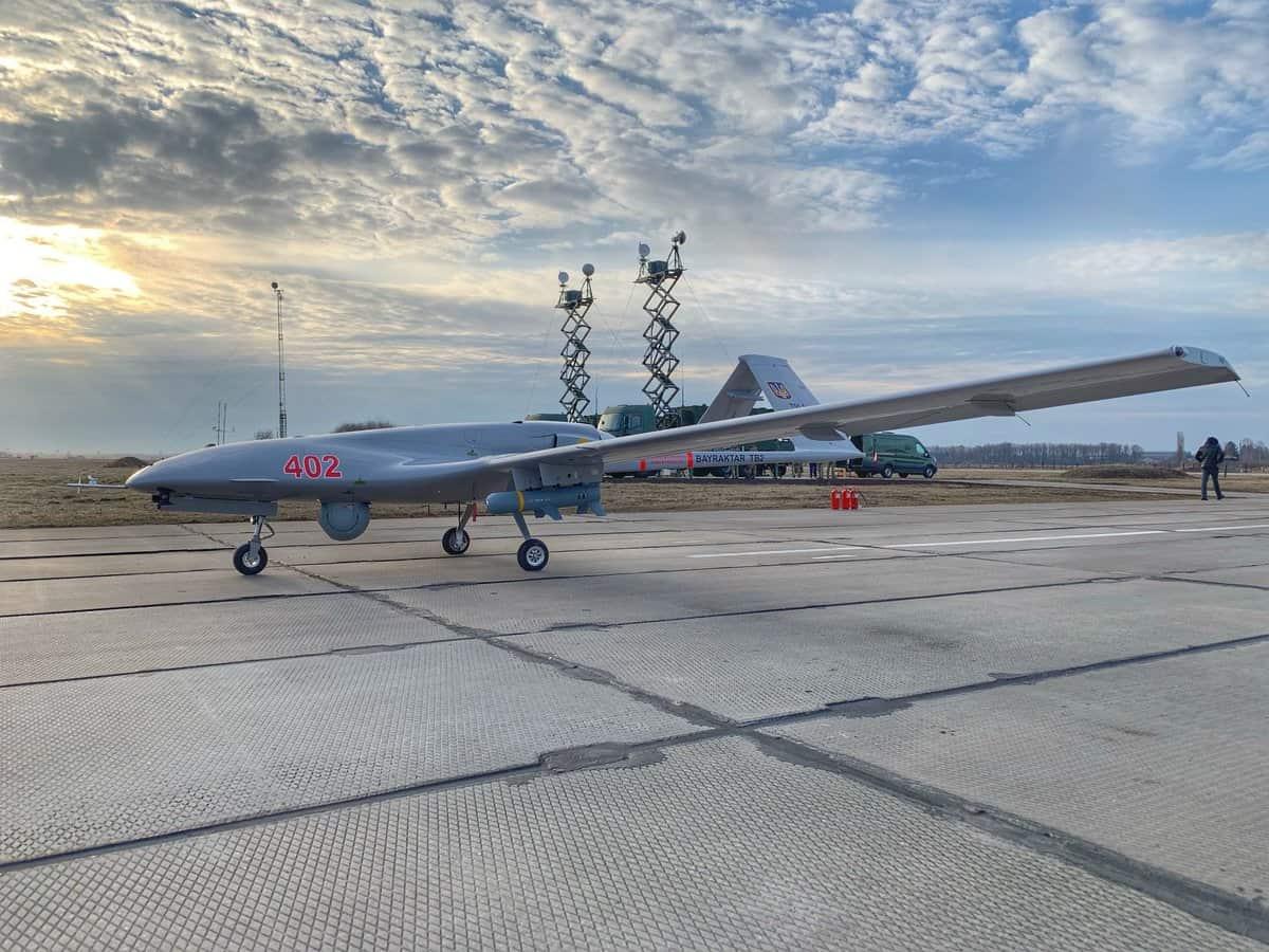 Bayraktar TB2 під час пусків в Україні