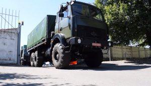 «Богдан» виготовив для ЗСУ партію вантажівок