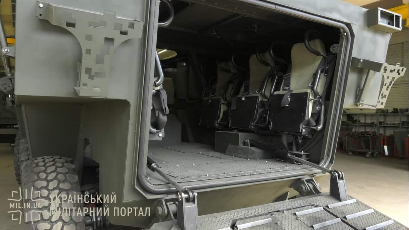 """Десантне відділення БТР """"Отаман"""""""