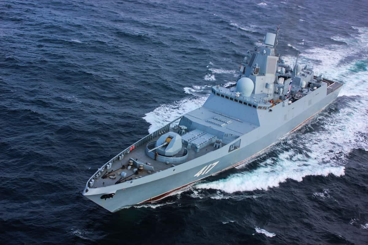Фрегат Адмирал Горшков (417)