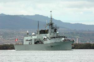 Канада відправляє фрегат до узбережжя КНДР