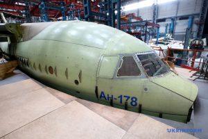 «Антонов» показав хід будівництва планера Ан-178 для Перу