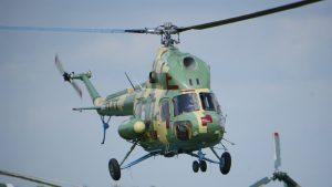Неподалік Брод впав військовий Мі-2