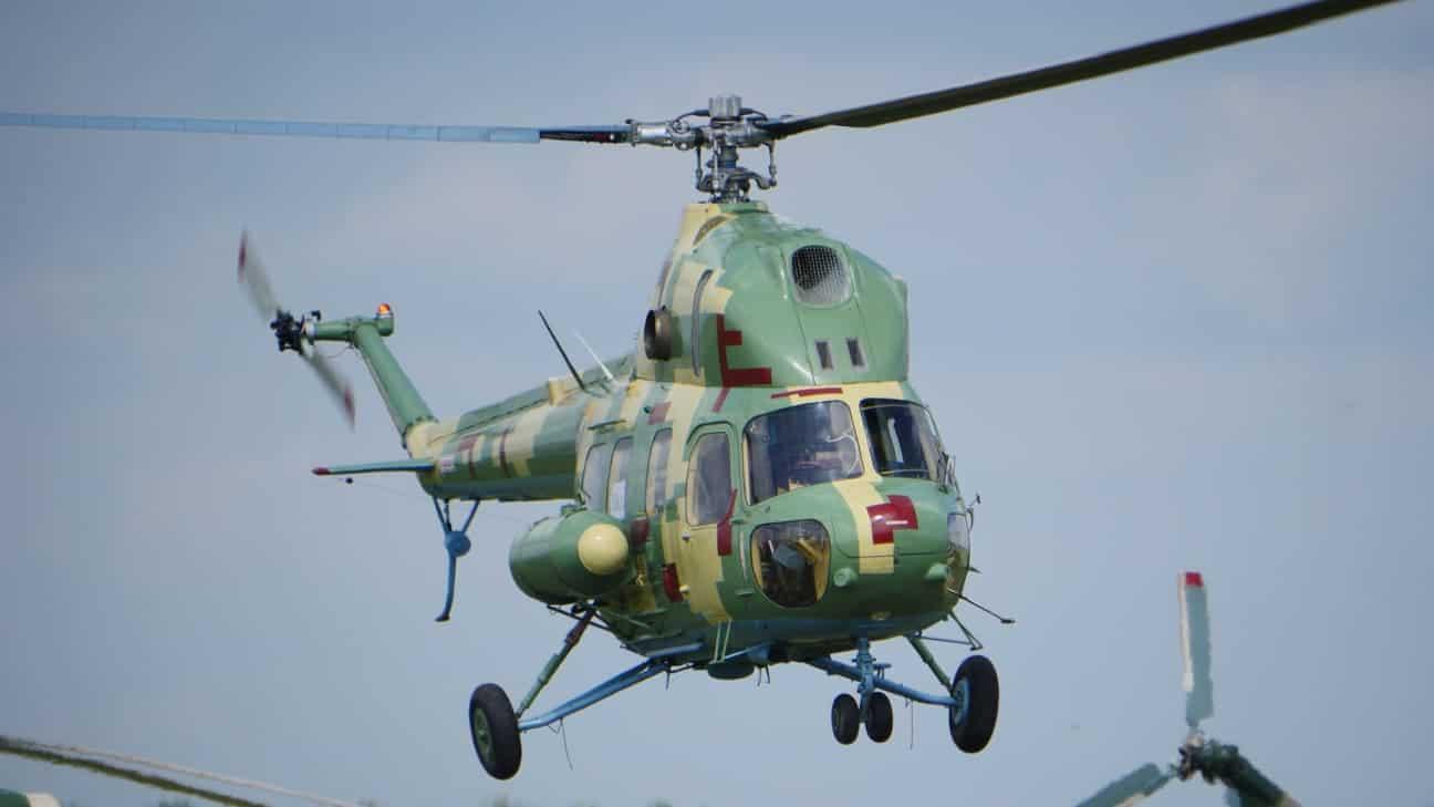 Мі-2 однієї з бригад армійської авіації